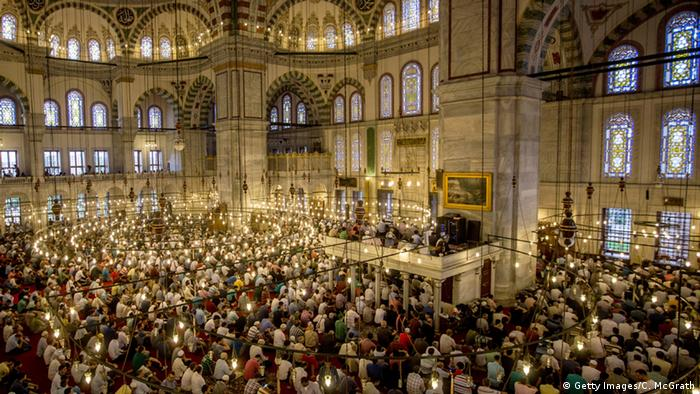 Türkei Zuckerfest Moschee in Istanbul (Getty Images/C. McGrath)