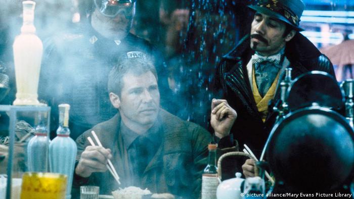 A still from Blade Runner