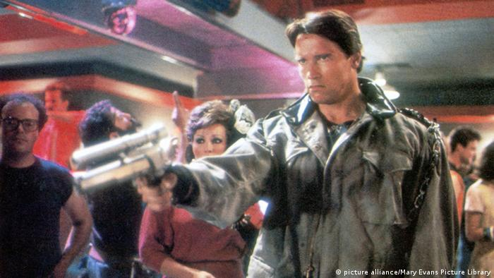 Arnold Schwarzenegger, film still Terminator (picture alliance/Mary Evans Picture Library)