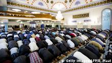 Niederlande Zuckerfest Moschee in Rotterdam