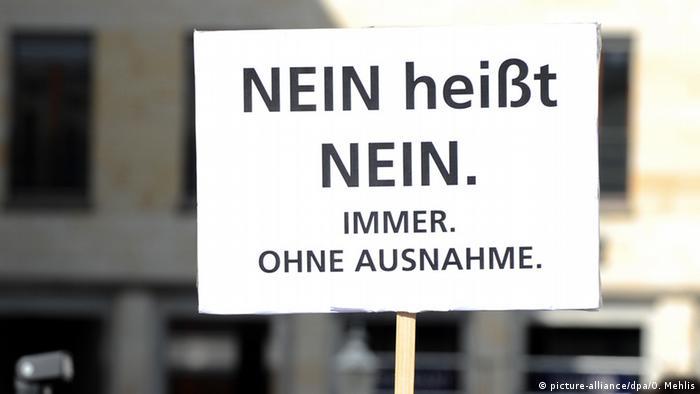 Berlin Demo Nein heißt Nein