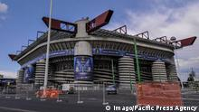 Italien AC Milan Giuseppe Meazza Stadion in Mailand