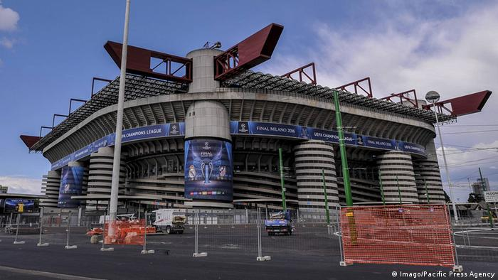 Italien AC Milan Giuseppe Meazza Stadion in Mailand (Imago/Pacific Press Agency)