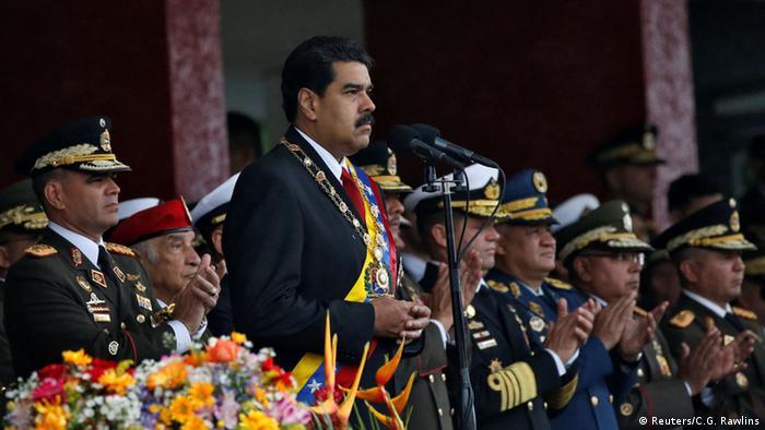 Venezuela Militärparade Unabhängigkeitstag Nicolas Maduro (Reuters/C.G. Rawlins)