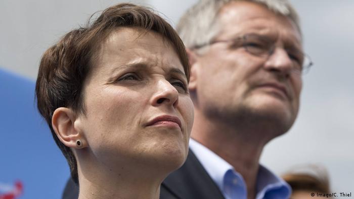 Deutschland Frauke Petry und Jörg Meuthen AfD-Vorstand (Imago/C. Thiel)
