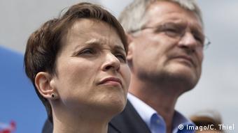 Frauke Petry und Jörg Meuthen AfD-Vorstand (Foto: Imago)