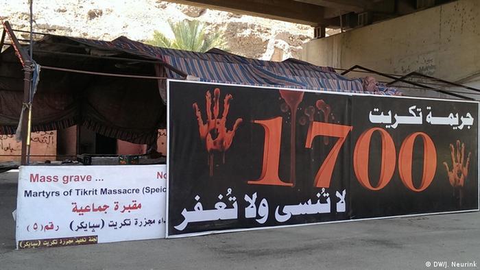 Irak Tikrit schwieriger Wiederaufbau