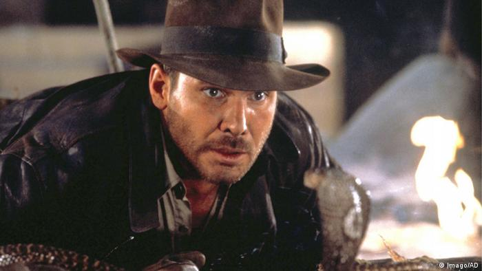 Film still Raiders of the Lost Ark - Harrison Ford (Imago/AD)