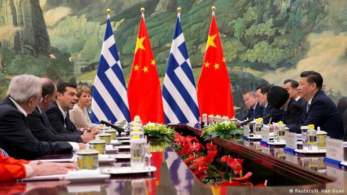 China griechischer Premierminister Alexis Tsipras & Xi Jinping (Reuters/N. Han Guan)