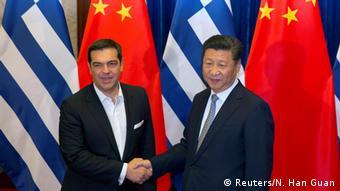 Ο έλληνας πρωθυπουργός σε παλαιότερη συνάντηση με τον κινέζο πρόεδρο
