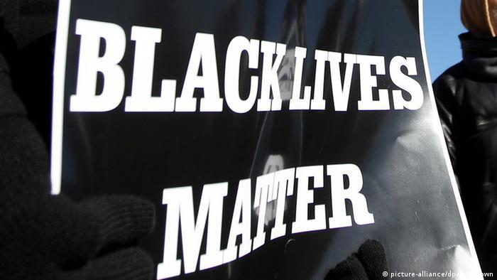 USA Protest der Black lives matter - Bewegung in Memphis, Tennessee