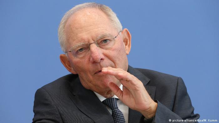 Berlin PK Wolfgang Schäuble zu Bundeshaushaltes 2017