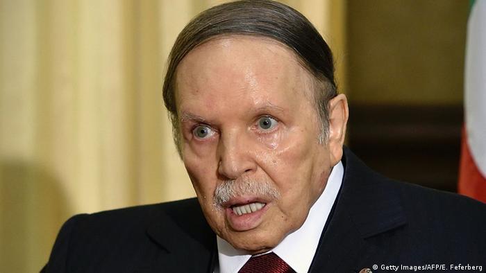 Algerien Präsident Abd al-Aziz Bouteflika (Getty Images/AFP/E. Feferberg)