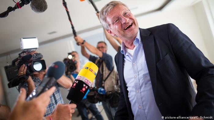 Deutschland Jörg Meuthen im Landtag von Baden-Württemberg in Stuttgart