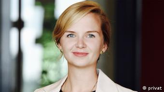 Kristina Lunz, aktivis yang mengkampanyekan NoMeansNO menganggap hukum Jerman atas kekerasan seksual saat ini masih terbelakang.
