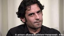 Deutschland der syrische Schriftsteller Aboud Saeed in Berlin