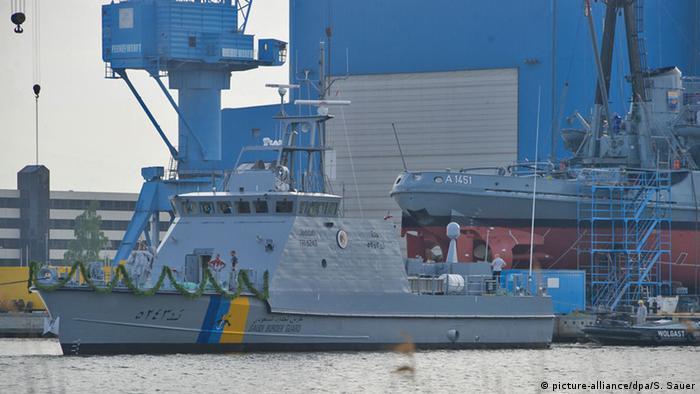 Wolgast Peene-Werft Lürssen Küstenschutzboot