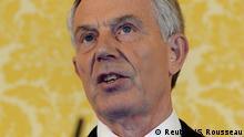 Großbritannien Chilcot-Bericht - PK Tony Blair