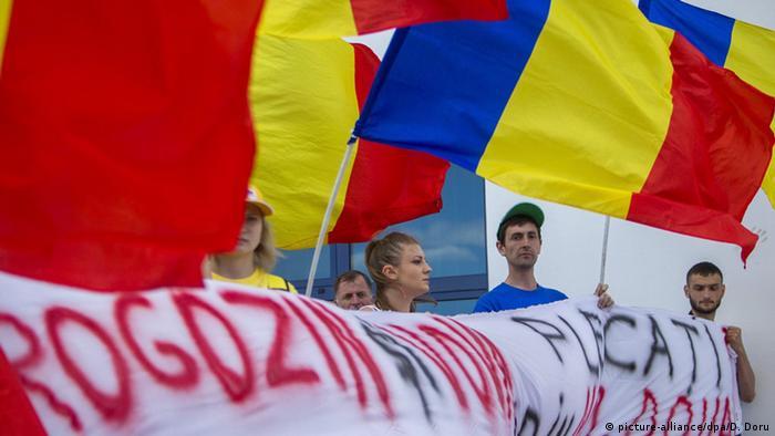 Proteste la Chișinău față de o vizită anterioară a lui Dmitri Rogozin