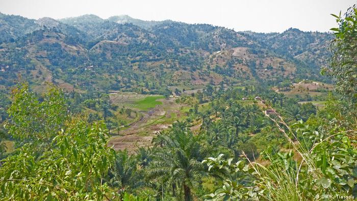 Burundi Cibitoke Landschaft