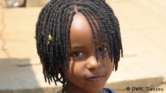 Une jeune Burundaise