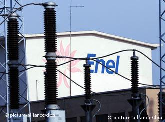 Enel Wasserkraftwerk