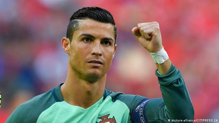 Euro 2016 Portugal vs Wales Ronaldo (picture-alliance/CITYPRESS 24)