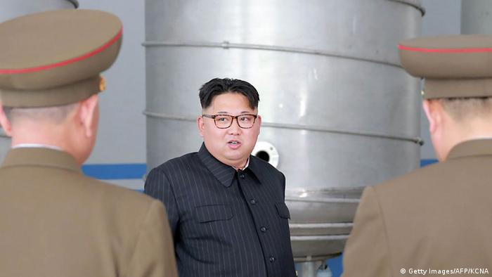 Nordkorea Kim Jong-Un (Getty Images/AFP/KCNA)