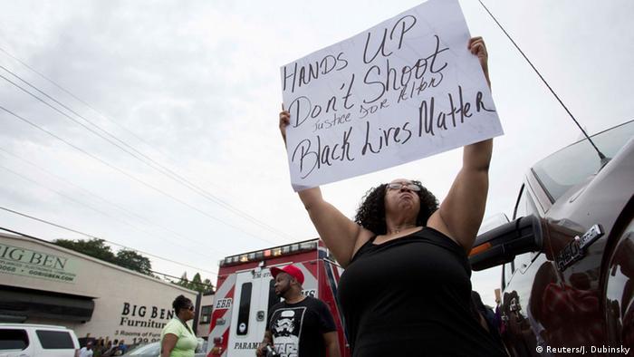 USA Proteste Afroamerikaner von der Polizei erschossen