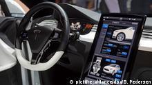 Elektroauto Tesla Model X von innen