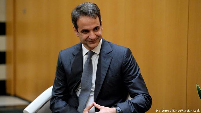 Griechenland Athen Kyriakos Mitsotakis, Chef der Konservativen Partei Griechenlands