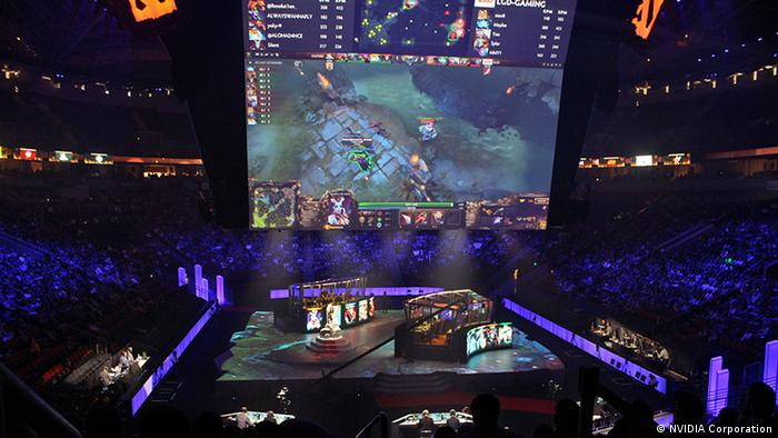 The International ESport-Meisterschaftsturnier in Seattle August 2015, Foto: NVIDIA Corporation