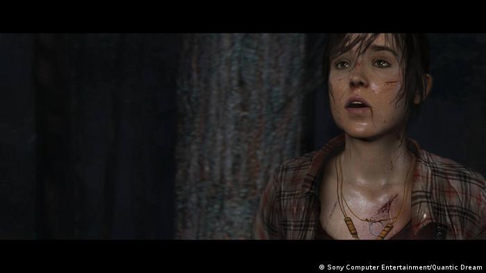 Computerspiel Beyond: Two Souls Ellen Page, Copyright: Quantic Dream
