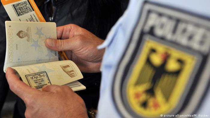 Паспортний контроль у Німеччині