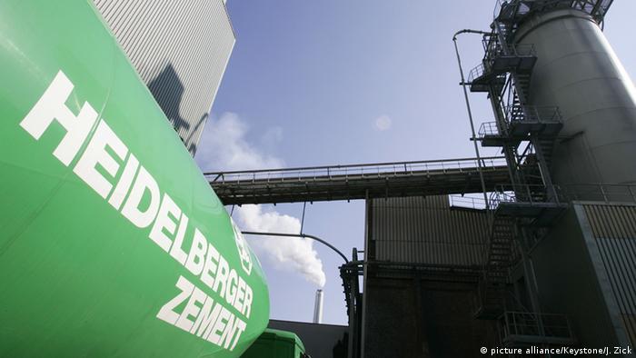 Heidelberg Cement Werk Leimen