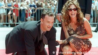 Tom Hanks und Rita Wilson (picture-alliance/dpa/V. Bucci)