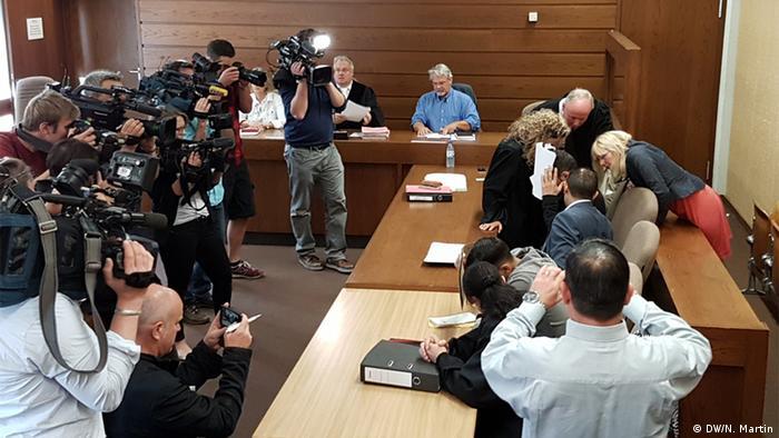 Deutschland Prozess Sexuelle Gewalt Silvesternacht in Köln - Hussein A.