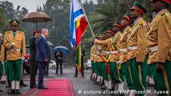 Äthiopien Addis Ababa Benjamin Netanjahu Staatsbesuch