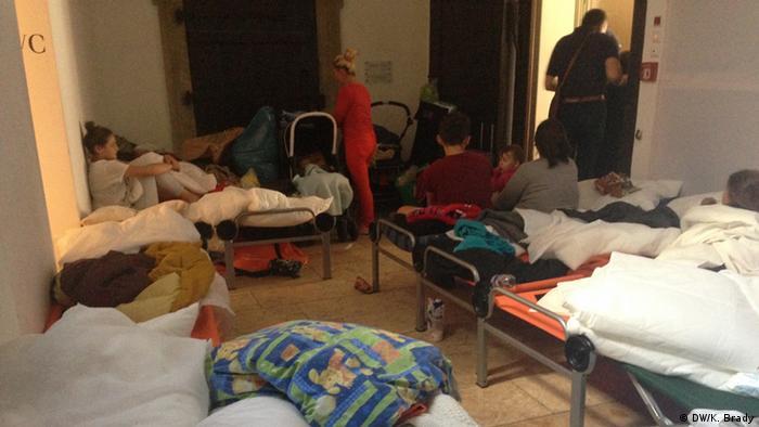 Deutschland Regensburg - Flüchtlinge - Besetzung des Doms
