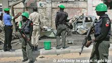 African Union Soldaten in Somalia