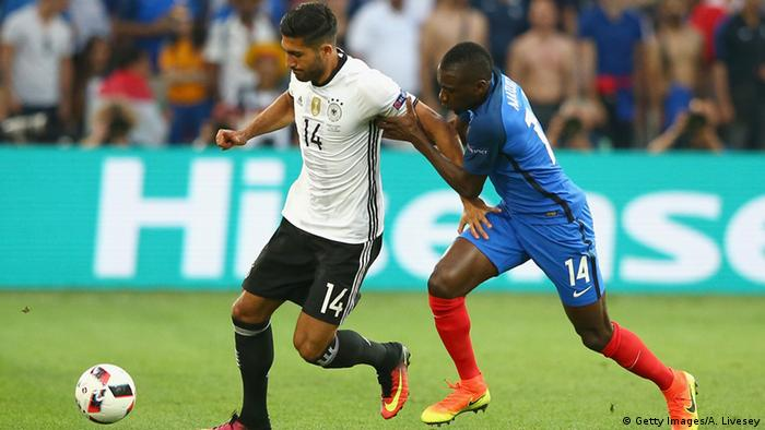 UEFA EURO 2016 - Halbfinale | Frankreich vs. Deutschland - Emre Can & Blaise Matuidi
