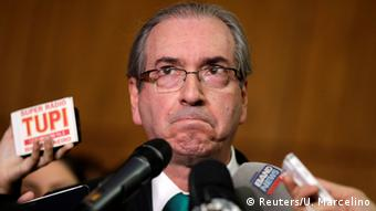 Brasilien Eduardo Cunha (Reuters/U. Marcelino)