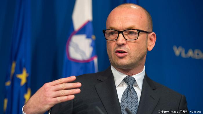 Slovenian central bank chief Bostjan Jazbec