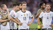 UEFA EURO 2016 Halbfinale Frankreich - Deutschland
