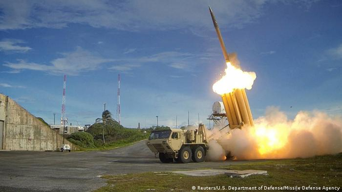 US Raketenabwehrsystem THAAD (Reuters/U.S. Department of Defense/Missile Defense Agency)