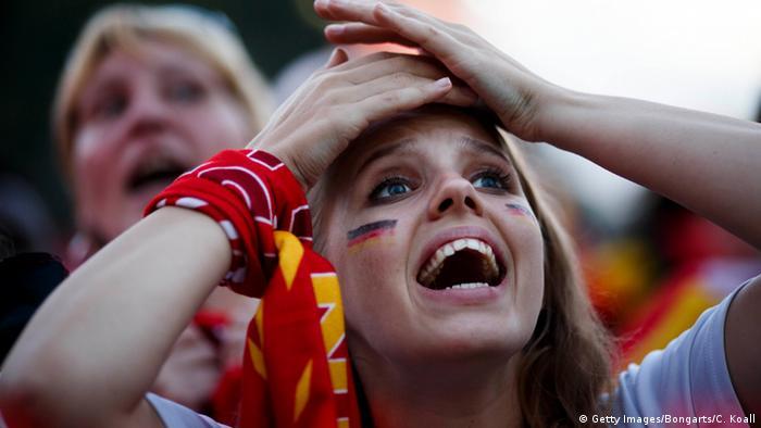 Berlin Fanmeile UEFA EURO 2016 Halbfinale Frankreich - Deutschland