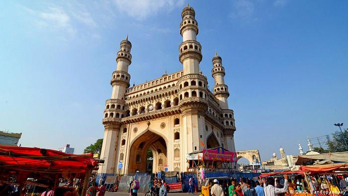 Indien Char Minar in Hyderabad