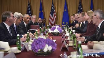 Встреча лидеров НАТО и ЕС на саммите в Варшаве