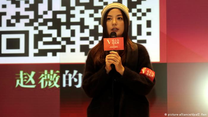 China Schauspielerin Zhao Wei