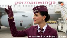 Flugbegleiterinnen Fluggesellschaft Germanwings